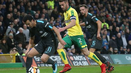 Ivo Pinto leads a depleted Norwich City into battle at Bristol City. Picture: Paul Chesterton/Focus