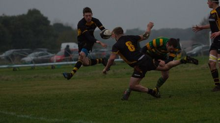 Southwold on the attack during another comprehensive win, this time against Crusaders. Picture: Lind