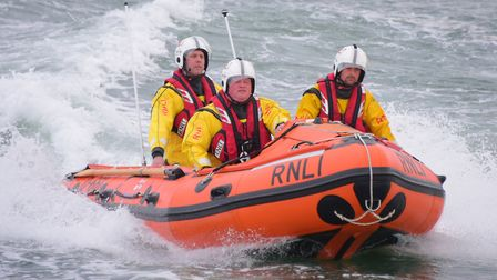 Wells inshore lifeboat. Picture by SIMON FINLAY.