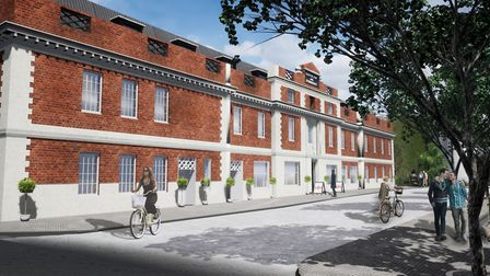 An artist's impression of how the St Mary's Works site will look. Pic: Our Place.