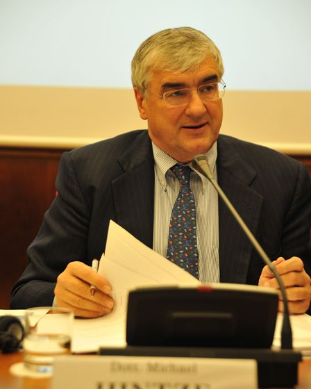 Conservative party donor Michael Hintze is the majority shareholder in The Shoe Quarter Ltd. Picture
