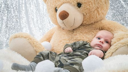 """But little Charlie is described as a """"happy, smiley baby."""" Photo: Richard Jarmy Photography [smile@r"""