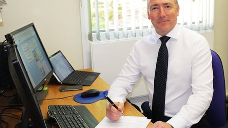 Jon Green, the Chief Executive of The Queen Elizabeth Hospital in King's Lynn. Photo: The Queen Eliz