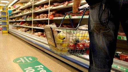 Food prices have seen particularly steep rises as inflation has crept up. Picture: Julien Behal/PA W