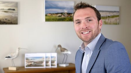 Tom Ellis, director of Norfolk Country Cottages. Picture: MARK BULLIMORE