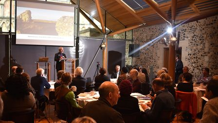 Water, Mills and Marshes launch at The hostry. David Gurney, Water, Mills and Marshes chairman.Pictu