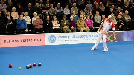 Mark Royal taking a long look at Potters. Picture: Nick Butcher