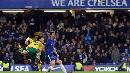 Jamal Lewis stunned Chelsea with a late equaliser at Stamford Bridge. Picture: Paul Chesterton/Focus