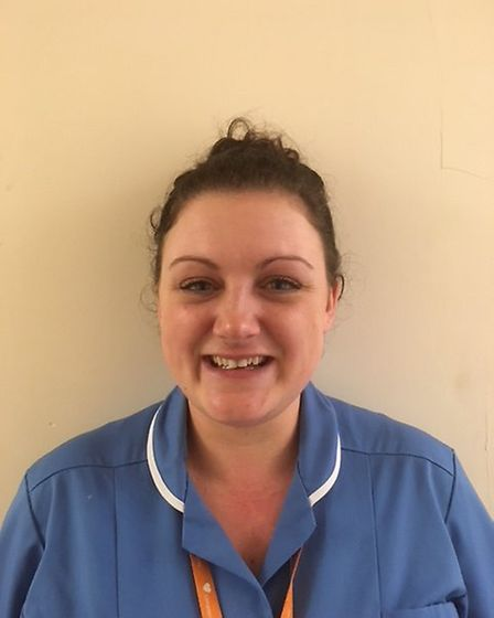 Kelly Sutton, a community staff nurse for Norfolk Community Health and Care. Photo: NCHC