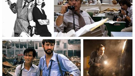 His Girl Friday, All The Presidents Men, The Killing Fields and Nightcrawler. Photos: Columbia Pictu