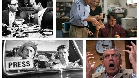 Sweet Smell of Success, Spotlight, Ace in the Hole and Network. Photos: Open Road/Paramount/United A