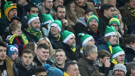 Hats off to the long-suffering Norwich City fans - and Merry Christmas.