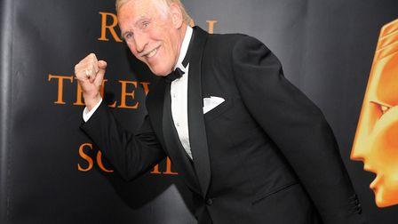 MUCH-MISSED: Trouper Bruce Forsyth. Picture: IAN WEST