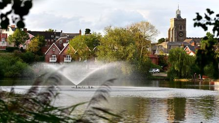 Diss Mere. Picture: Sonya Duncan
