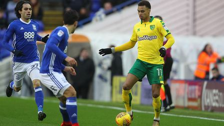 Josh Murphy was on the mark at St Andrews. Picture: Paul Chesterton/Focus Images Ltd