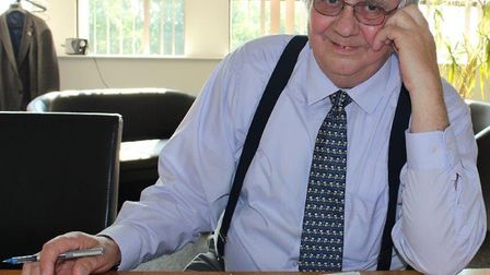 Cliff Jordan, leader of Norfolk County Council. Pic: Submitted