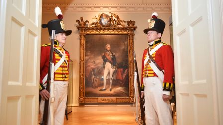 Nelson and Norfolk exhibition at Norwich Castle. Picture: ANTONY KELLY