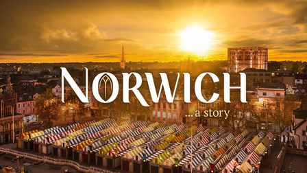 Filmmaker Rob Whitworth has created a short film for Norwich Cathedral called Norwich...a story. Pic