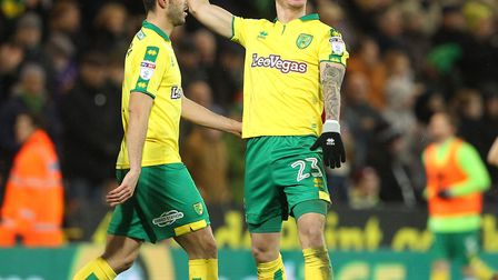 James Maddison celebrates scoring the goal that sealed an impressive comeback win for the Canaries.