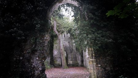 East Somerton Church was said to be cursed by a witch. Picture: ANTONY KELLY
