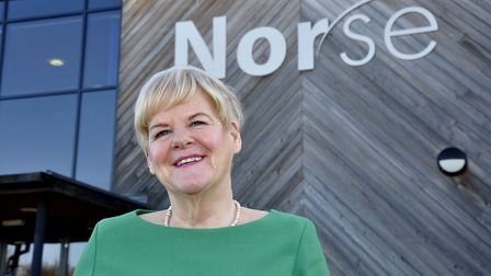Tricia Fuller, HR director at Norse Group. Picture: Norfolk ProHelp