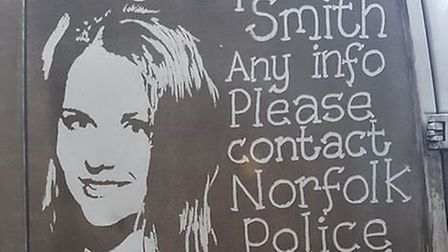 Norfolk artist Ruddy Muddy joins the search to help find missing UEA student Sophie Smith (Picture: