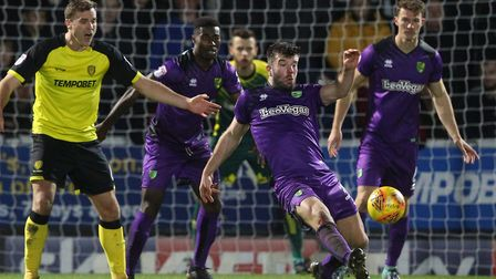 Grant Hanley gets rid as Norwich City dig in for a goalless draw at struggling Burton Albion, roundi