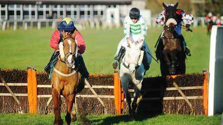 Mamoo - on the way to victory at Fakenham in early December - is a good chance in the New Year's Day