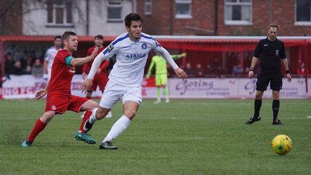 Lowestoft's Matthew Foy. Picture: Shirley D Whitlow.