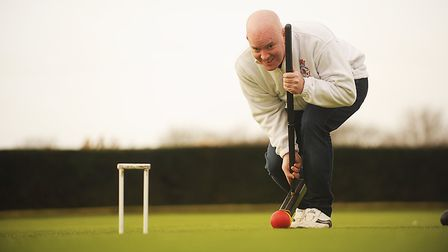 Sam Murray is off to the World Croquet Championships in New Zealand. Picture: Ian Burt