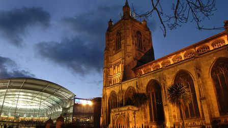 St Peter Mancroft Church., considered to be the 'birthplace of bell-ringing'. Pic: James Bass.