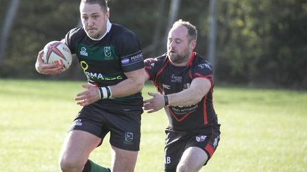 Vikings Chalk Hill Brewery Player of the Month Hal Riley.