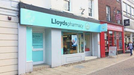 LloydsPharmacy on King Street, Thetford, is set to close at the end of December. Picture: Rebecca Mu