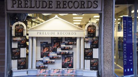 Prelude Records in Norwich which closed after 30 years. Picture: DENISE BRADLEY