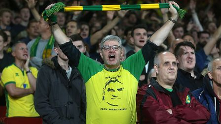 More than 9,000 Norwich fans turned out in force at Arsenal. Picture: Paul Chesterton/Focus Images
