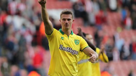 Christoph Zimmermann was a key part of the Norwich City defence that helped set a club record of lea