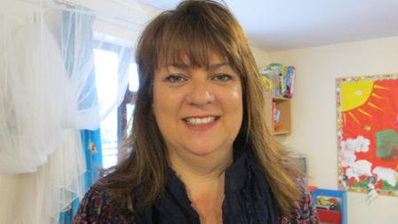 Ros Cutts, manager of Mulberry Bush Day Nursery. Picture: SENT IN BY ROS CUTTS