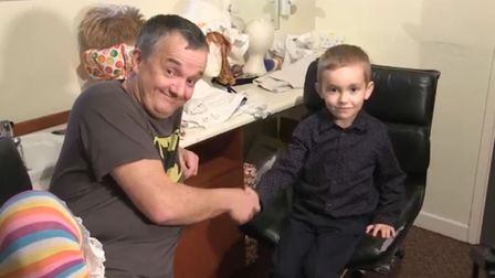 Six-year-old Joshua goes behind-the-scenes at Norwich Theatre Royal's panto. Here he chats with Rich
