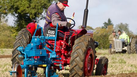 Norfolk Farm Machinery Club's ploughing match at Carbrooke. Picture: Tom Thurston / iwitness24