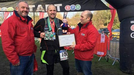 Ian Odgers from Dereham has run 100 marathons in 100 weeks. Picture supplied by Ian Odgers
