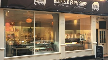 Blofield Farm Shop have opened a pop up store in the former home of Woolf & Bird in Norwich. Photo: