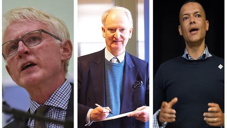 L to R Norman Lamb, Henry Bellingham and Clive Lewis