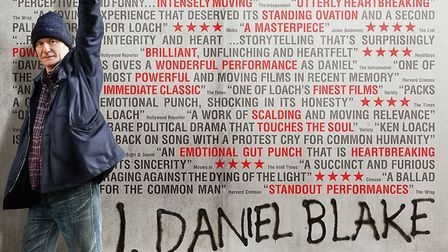 I, Daniel Blake will be screened at a charity fundraiser in King's Lynn. Picture: Submitted/Archant