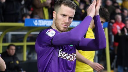 Marley Watkins last started for Norwich City in the goalless draw at Burton Albion, just before the
