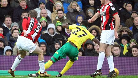 James Wilson opened the scoring at Carrow Road. Picture: Paul Chesterton/Focus Images Ltd