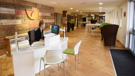 The new Woods social area at Hoseasons at Lowestoft. Airbnb has dropped a bid to buy the firm and a