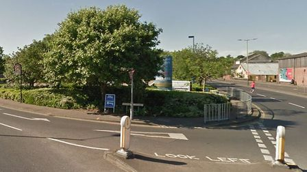 The intersection of Barn Road and Westwick Street, Norwich (Image: Google Maps)