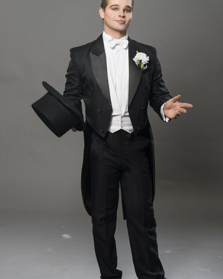Alex Green as Jerry Travers in Top Hat for the Norfolk and Norwich Operatic Society. Photo: Submitte