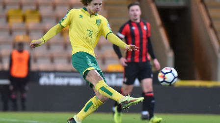 Todd Cantwell is set for his first loan spell away from Norwich City. Picture: Nick Butcher