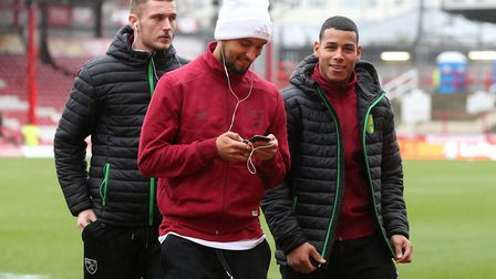 Moritz Leitner made a late debut at Brentford with fellow new signings, Onel Hernandez and Dennis Sr